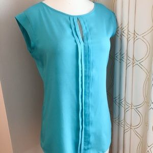 The Limited Blouse-Blue